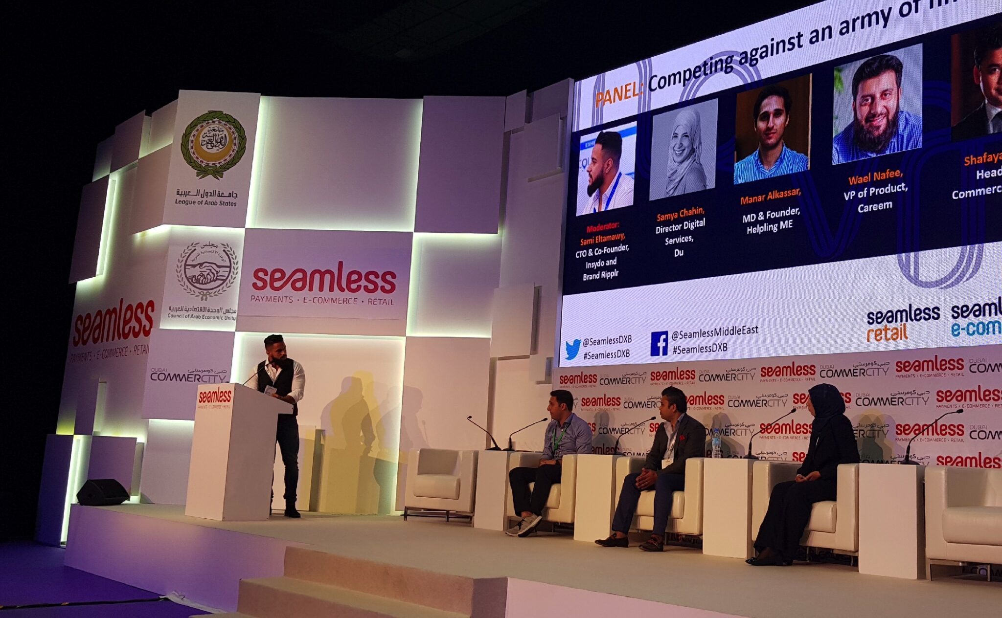 Planet of Apps panel discussion at seamless 2018