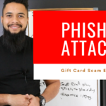 What is spear phishing attack or gift card scam and how to detect it?